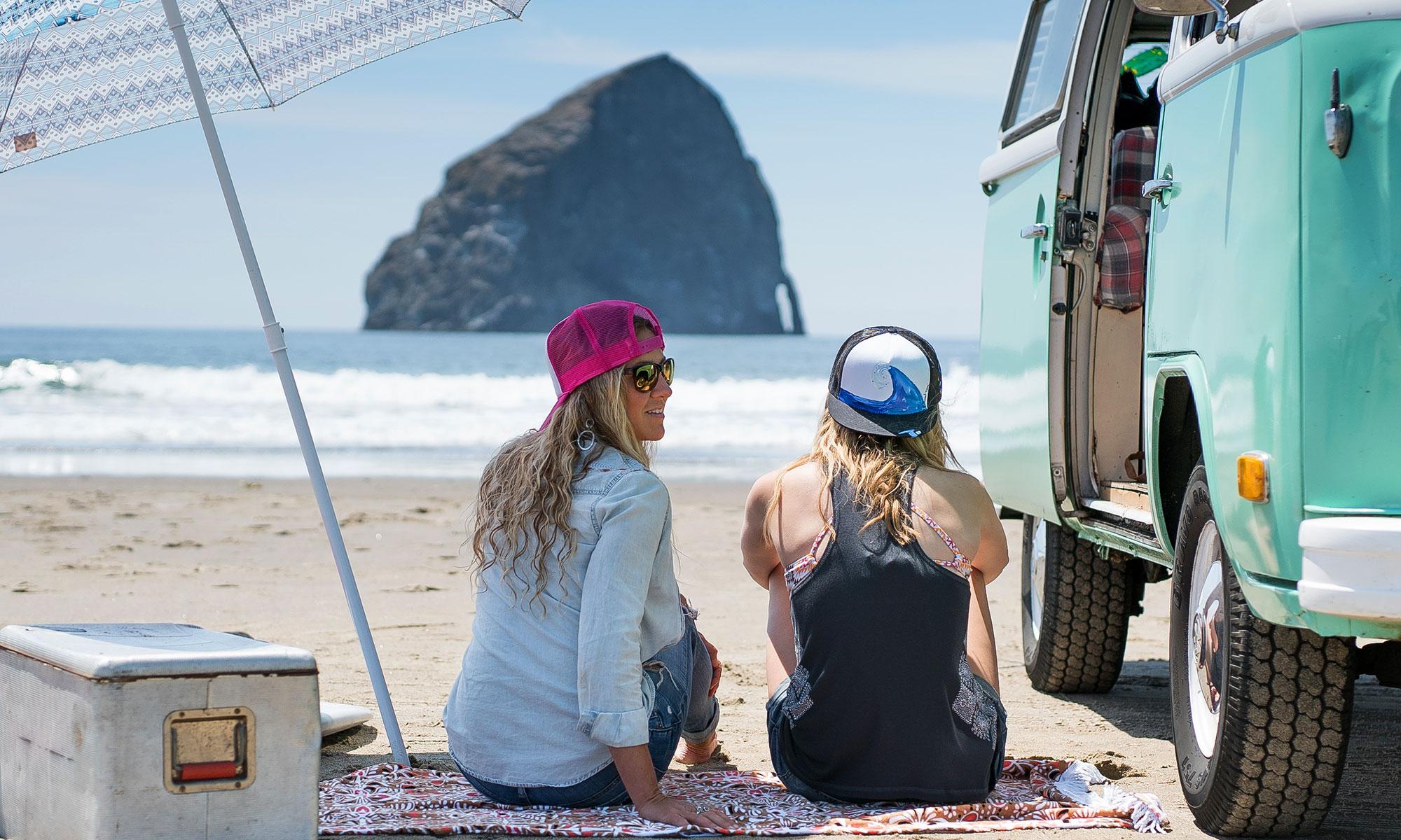 beach ladies blanket
